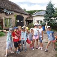 Wakacyjnie w przedszkolu - Skansen w Nadolicach Wielkich-193